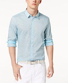 Calvin Klein Men's Floral-Print Shirt