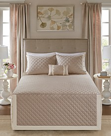 Breanna 4-Pc. Full/Queen Quilted Bedspread Set