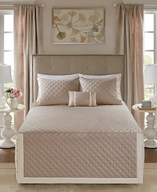 Madison Park Breanna 4-Pc. King/California King Quilted Bedspread Set