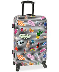 "Wembley Live It Up Ice Cream 24"" Hardside Spinner Suitcase"