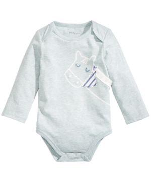 First Impressions Baby Boys HorsePrint Bodysuit Created for Macys