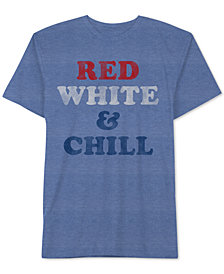 Red White & Chill Men's T-Shirt by Hybrid Apparel