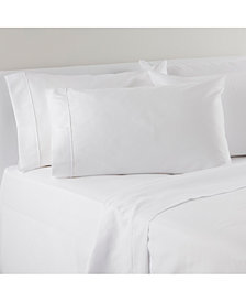 IZOD Solid Microfiber 4-Pc. Twin XL Sheet Set