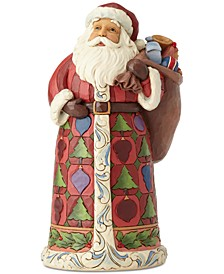 Jim Shore Santa & Toy Bag Figurine