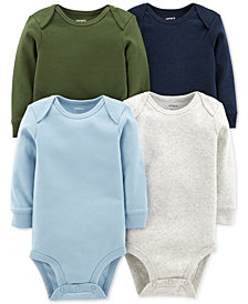 Carter's Baby Boys 4-Pack Bodysuits