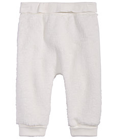 First Impressions Baby Girls or Baby Boys Fleece Jogger Pants, Created for Macy's