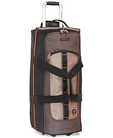 "Timberland Jay Peak Cocoa 28"" Wheeled Duffel Bag"