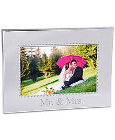 Cathy's Concepts Mr. & Mrs. Beaded  Frame