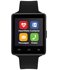 Air 2 Smartwatch 45mm Black Case with Black Strap