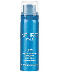 Paul Mitchell Neuro Style Lift HeatCTRL Volume Foam, 1.5-oz., from PUREBEAUTY Salon & Spa