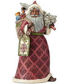 Jim Shore Victorian Santa with Sled & Toys Figurine