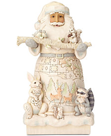 Jim Shore Woodland Santa Figurine