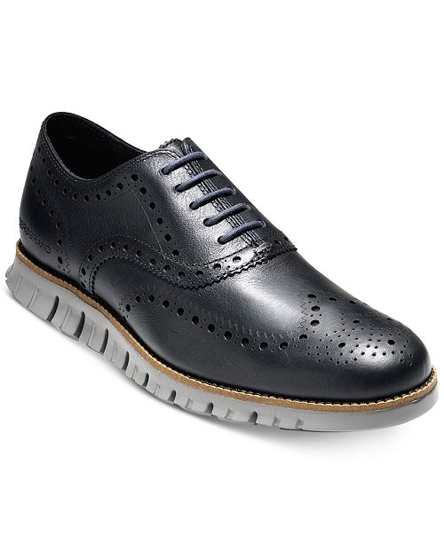 0e46023fe2e1 Cole Haan Men s ZeroGrand Wingtip Oxfords   Reviews - All Men s ...