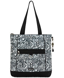 Sakroots Chelsea Nylon Convertible Tote Backpack