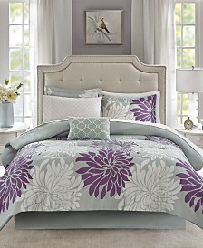 Madison Park Essentials Maible Reversible 9-Pc. Comforter Sets