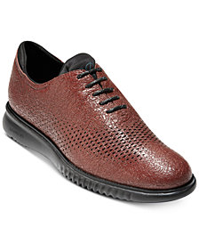 Cole Haan Men's 2.ZeroGrand Laser Wingtip Oxfords