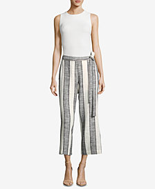 ECI Striped Culotte Pants