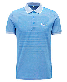 BOSS Men's Regular/Classic-Fit Patterned Polo