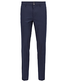 BOSS Men's Slim-Fit Stretch Fabric Chino Pants
