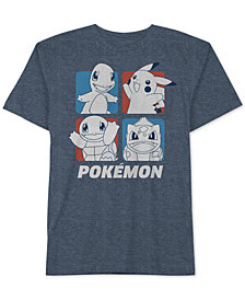 Pokemon Big Boys Graphic-Print T-Shirt