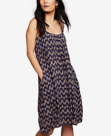 A Pea In The Pod Maternity Printed Nursing Dress