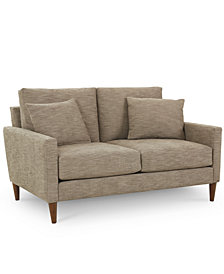 "CLOSEOUT! Emberli 57"" Fabric Loveseat, Created for Macy's"