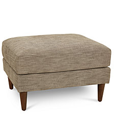 CLOSEOUT! Emberli Fabric Ottoman, Created for Macy's