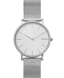 Skagen Men's Hagen Slim Stainless Steel Mesh Bracelet Watch 38mm