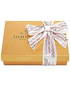 Godiva 19-Pc. Happy Birthday Gold Gift Box