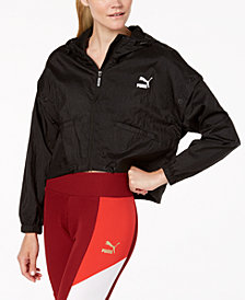 Puma Retro Cropped Windbreaker