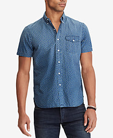 Polo Ralph Lauren Men's Big & Tall Classic Fit Stars Shirt