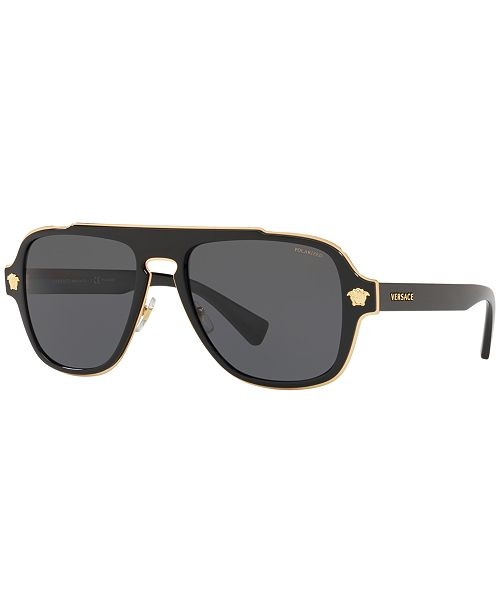4f46390622c ... Versace Polarized Sunglasses