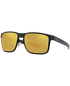 Polarized Sunglasses, OO4123 55 Holbrook Met