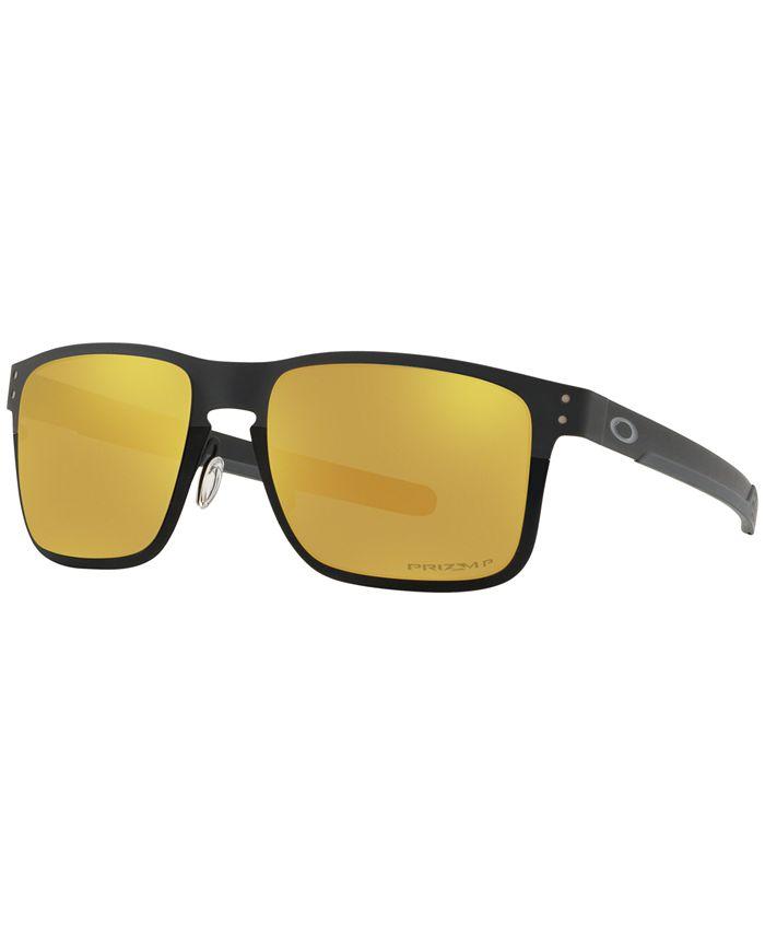 Oakley - Polarized Sunglasses, OO4123 55 Holbrook Met