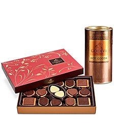 Milk Chocolate Hot Cocoa & Chocolate Biscuit Gift Set