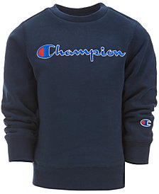 Champion Little Boys Heritage Logo Sweatshirt