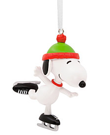 Hallmark Snoopy Skating Ornament