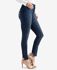 Lucky Brand High-Waist Bridgette Ripped-Pocket Skinny Jeans