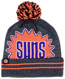 Mitchell & Ness Phoenix Suns Black Heather Hi-5 Pom Knit