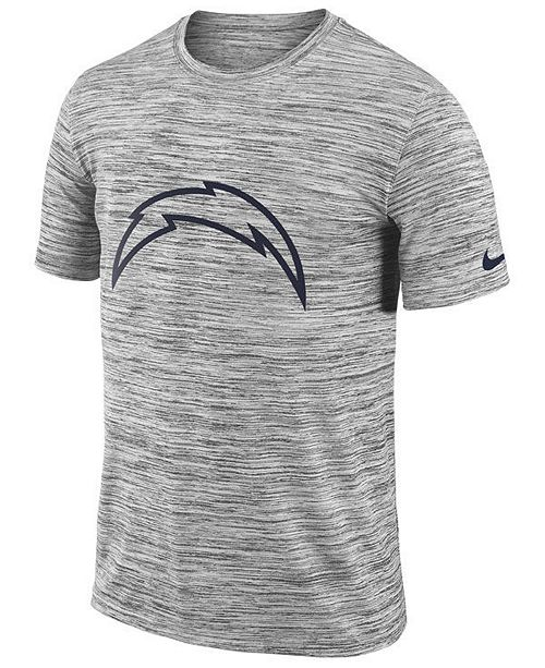newest bea1b 89e80 ... Nike Men s Los Angeles Chargers Legend Velocity Travel T- ...