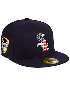 New Era Boys' Chicago White Sox Stars and Stripes 59FIFTY Fitted Cap
