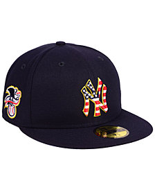 New Era Boys' New York Yankees Stars and Stripes 59FIFTY Fitted Cap
