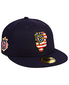 New Era Boys' San Francisco Giants Stars and Stripes 59FIFTY Fitted Cap