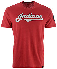 '47 Brand Men's Cleveland Indians Rundown Fieldhouse T-Shirt