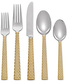 Palm Gold Collection 5-Pc. Place Setting