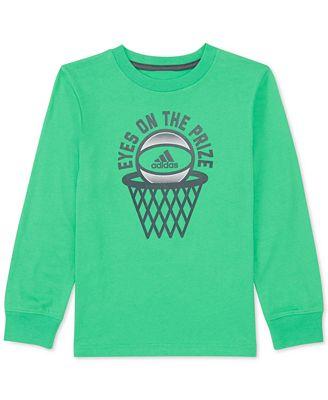 Adidas Toddler Boys premio Print Cotton T Shirt Shirts & Tees
