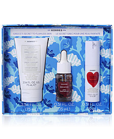 Korres 3-Pc. Greece's Secret To Flawless Skin Set