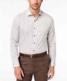 Tasso Elba Men's Loretti Paisley Shirt, Created for Macy's