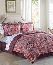 Alden 6-Pc. Twin Comforter Set