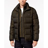 Calvin Klein Full-Zip Puffer Men's Coat (Various Sizes & Colors)
